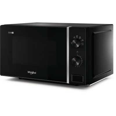 WHIRLPOOL - Four à micro-ondes pose-libre, 700W, 20l, Cook20, plateau tournant 24,5cm, noir
