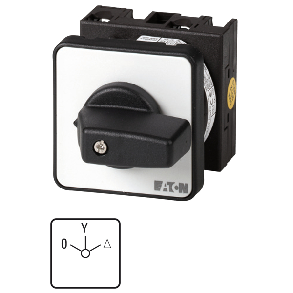MOELLER - Sterdriehoekschakelaar (handmatig) T0-4-8410/E 20A, 3p