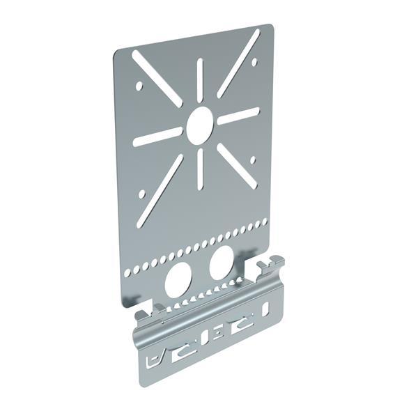 Vangeel Systems - P31+ snelmontageplaat kabelgoot H60 Sdz. voor Plexo dozen- schroefloos klemmen