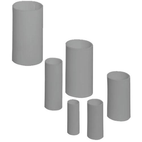 PIPELIFE - Manchon, résistant aux chocs, Ø 16 mm - sans halogène - gris foncé  RAL 7037