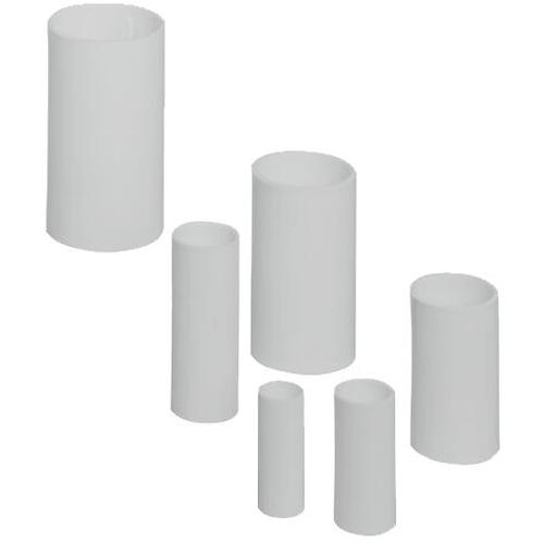 PIPELIFE - Manchon, résistant aux chocs, Ø 50 mm - sans halogène - gris clair RAL 7035
