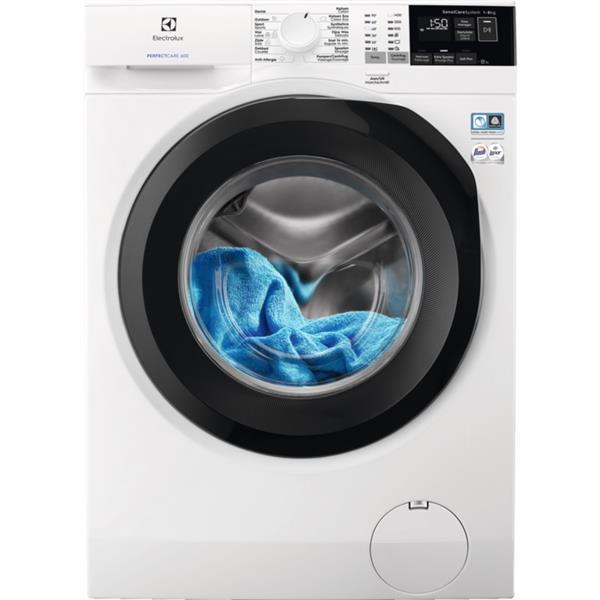 Electrolux - Wasmachine, 8kg, 1400t, startuitstel, SensiCare, inverter motor D wit