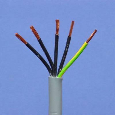 CABLES SPECIAUX - LIYY5X 0,75mm² IEC 60332-3 vert/jaune noir numéroté
