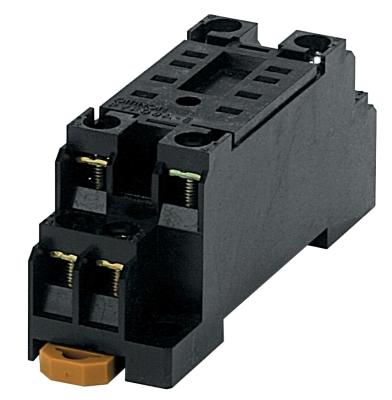 OMRON - Socle pour relais MY4 et minuteries H3Y-4 et H3YN-4