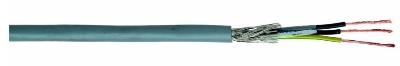 CABLES SPECIAUX - LIYCY5X 1,5mm² IEC 60332-3 vert/jaune noir numéroté blindé