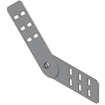 STAGOBEL - Raccord de descente/montée réglable H=60mm Tôle d'acier galvanisée Sendzimir