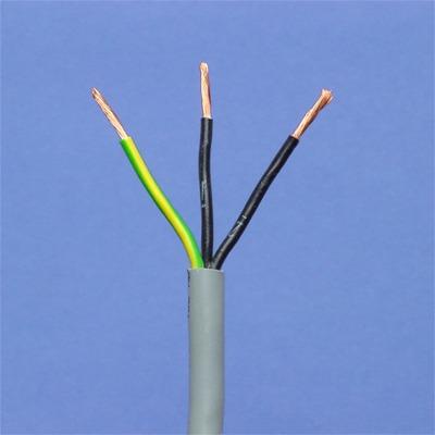 CABLES SPECIAUX - LIYY3X 0,75mm² IEC 60332-3 vert/jaune noir numéroté