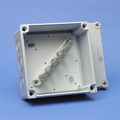 VYNCKIER - série 55 boîte de dérivation 16mm² avec reglette à bornes