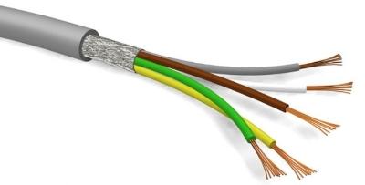 SPECIALE KABEL - LIYCY3X 0,25mm² IEC 60332-3 DIN 47100 afgeschermd