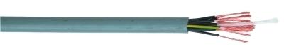 SPECIALE KABEL - LIYY7X 0,75mm² IEC 60332-3 geel/groen zwart genummerd