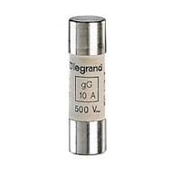 LEGRAND - Cartouche cyl. gG 14x51 25A HPC sans percuteur 500V 100kA