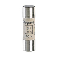 LEGRAND - Cartouche cyl. gG 14x51 40A HPC sans percuteur 500V 100kA