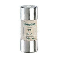 LEGRAND - Cartouche cyl. aM 22x58 80A HPC sans percuteur 500V 100kA