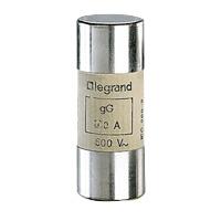LEGRAND - Cartouche cyl. gG 22x58 80A HPC sans percuteur 500V 100kA