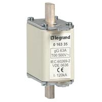LEGRAND - Mespatroon gG 100A grootte 00 500V 120kA met verklikker