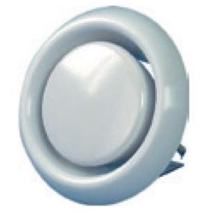 CODUME - Ronde regelbare luchtklep - Ø125mm - max. debiet 150m³/u