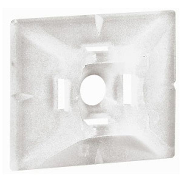 LEGRAND - Embase adhésive incolore colliers Colring larg. 4,6 mm
