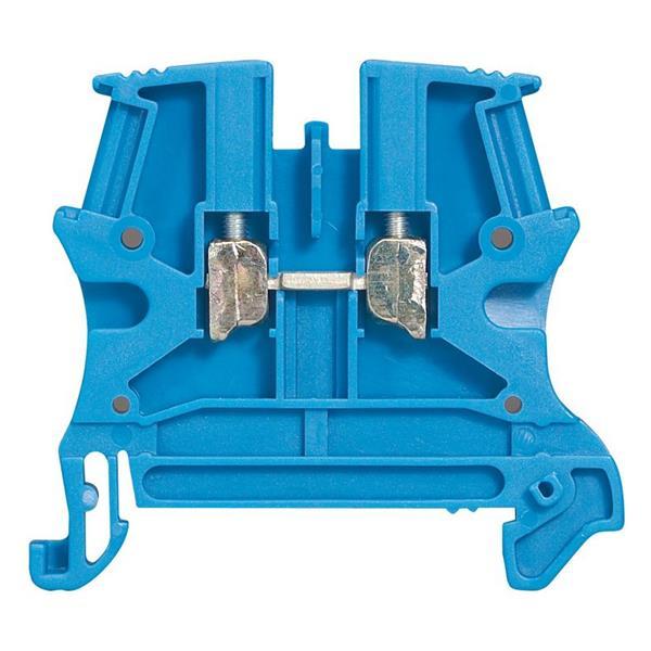 LEGRAND - Schroefklem 1 verbinding 4mm² (spoed 6 mm), blauw - Viking 3