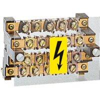 LEGRAND - Répartiteur étagé - 4p - 125 A 4 barres 12x4 mm - pour cosses