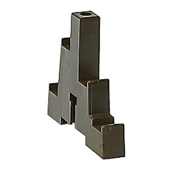 LEGRAND - Set van 2 houders - 4p - 280 A voor staven 12x2 of 12x4mm
