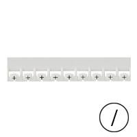 LEGRAND - Mémocab merkteken - delen zwart/witte achtergrond - 2,3 mm