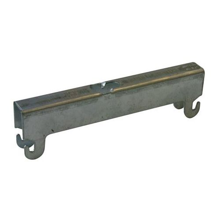 STAGOBEL - Etrier de gaine supérieur Tôle d'acier galvanisée Sendzimir, Largeur: 200 mm