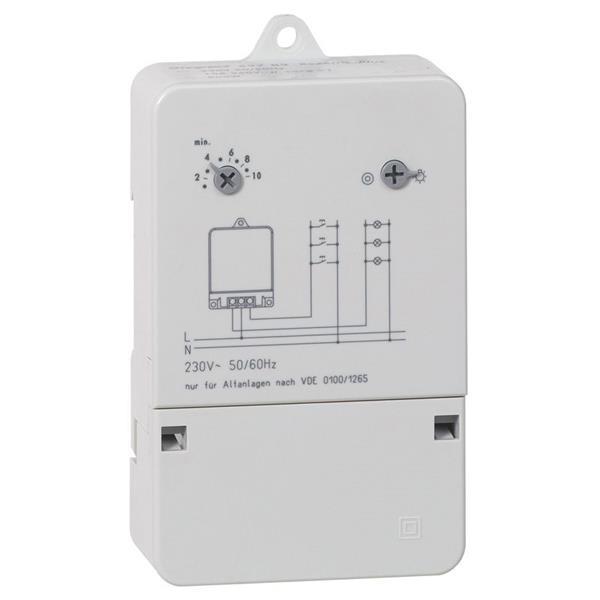 LEGRAND - Trappenhuisautomaat opbouw 230 V - 10 A - 30 sec/10 min