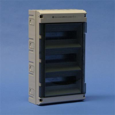 VYNCKIER - Fix-o-Rail IP55 3rijen 36 mod. doorzichtige deur
