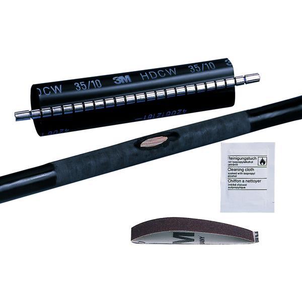 3M - HDCW manchette de réparation ø câble min. 25mm - max. 80mm noir longueur 500mm