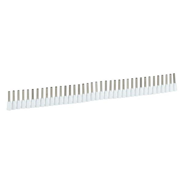 LEGRAND - Embout Starfix section 0,5 mm² 12x40-blanc-collerette isol.
