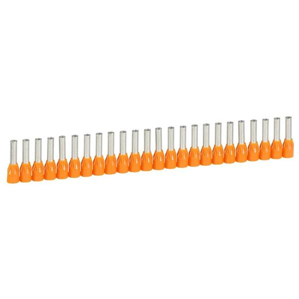 LEGRAND - Embout Starfix section 4 mm² 10x25-orange-collerette isol.