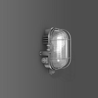 RZB - Armatuur ovaal Alu-Standard A60/60W,E27 210x130x120