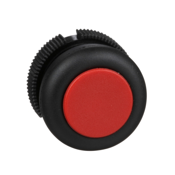 TELEMECANIQUE - Tête rond pour bouton-poussoir - à impulsion - XAC-A - rouge - capuchonné